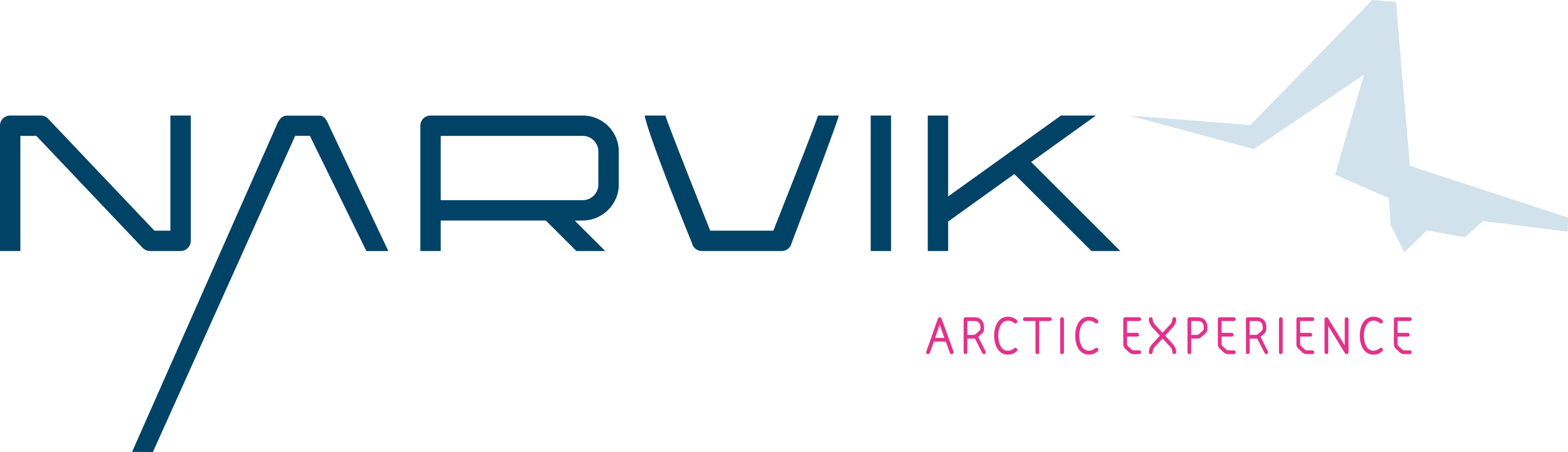 Visit Narvik Logo English