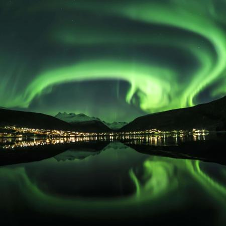 Northern lights in Narvik