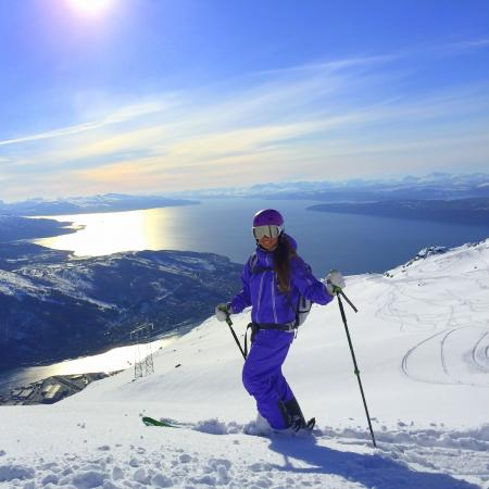 Alpine Skiing in Narvikfjellet