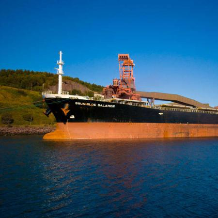 LKAB shipping iron ore
